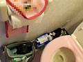 ギャルが住んでいるトイレの様子